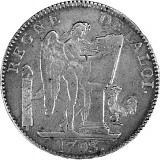 Six Livres Frankreich 27g Silber (1792 - 1795)