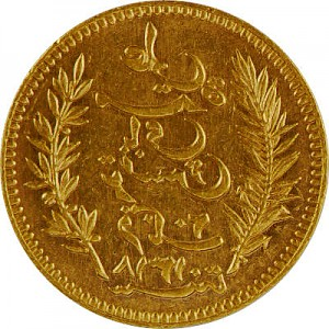 20 Francs Tunesien 5,81g Gold