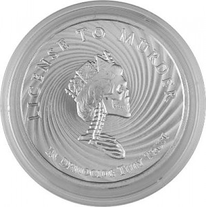 Democide Round USA Mini Mintage 1oz Silber - 2017