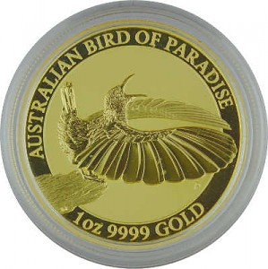 Birds of Paradise - Viktoria Paradiesvogel 1oz Gold - 2018