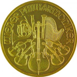Wiener Philharmoniker 1/4oz Gold - 2018