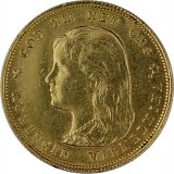 10 Gulden Wilhelmina Jugend 6,05g Gold
