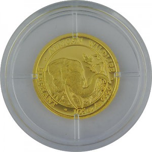 Somalia Elefant 1/25oz Gold - 2018