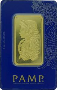 Goldbarren 50g - PAMP