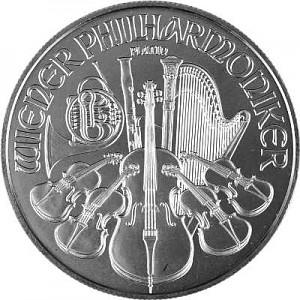 Wiener Philharmoniker 1oz Platin
