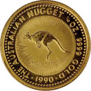 Känguru 1/10oz Gold - 1990