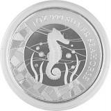 Samoa Seepferdchen prooflike 1oz Silber - 2018