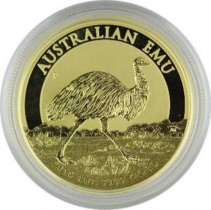 Australie Émeu 1oz d'or fin - 2018