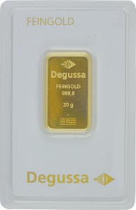Gold Bar 20g - Degussa