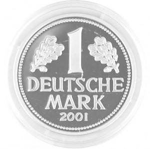 1 DM Replik 8,5g Silber - 2011