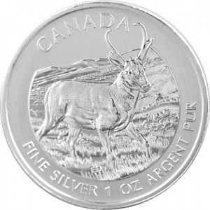 Wildlife Antilope 1oz Silber - 2013