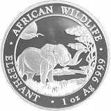 Somalia Elefant 1 oz Silber - 2019