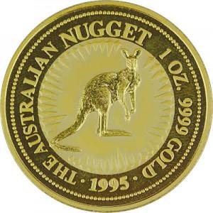 Australian Kangourou 1oz d'or fin - 1995