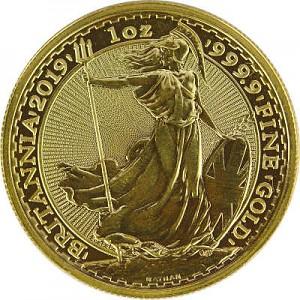 Britannia 1oz Gold - 2019