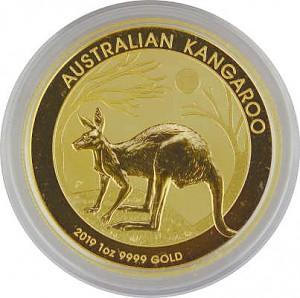 Australian Kangourou 1oz d'or fin - 2019