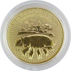 Lunar UK Schwein 1oz Gold - 2019