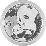 China Panda 30g Silber - 2019