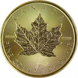 Maple Leaf 1oz Gold - 2019
