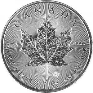Maple Leaf 1oz Silber - 2019