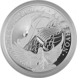 Arche Noah 1kg Silber - 2019