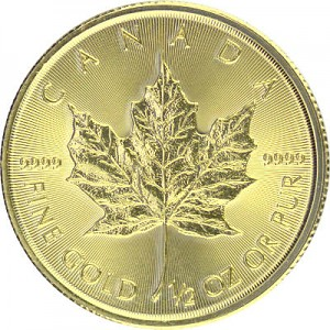 Maple Leaf 1/2oz Gold - 2019