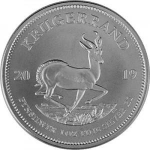 Krügerrand 1oz Silber - 2019