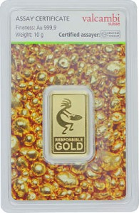 Goldbarren 10g - Auropelli Responsible-Gold