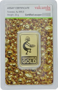 Goldbarren 20g - Auropelli Responsible-Gold