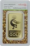 Goldbarren 100g - Auropelli Responsible-Gold