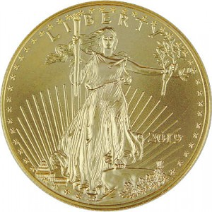 American Eagle 1oz Gold - 2019