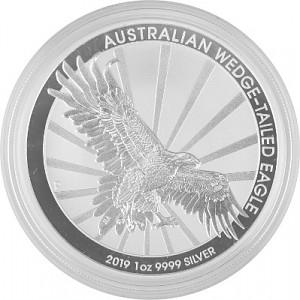 Keilschwanz Adler Australien (Wedge Tailed Eagle) 1oz Silber - 2019