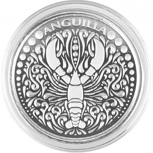 Anguilla Lobster 1oz Silber - 2018