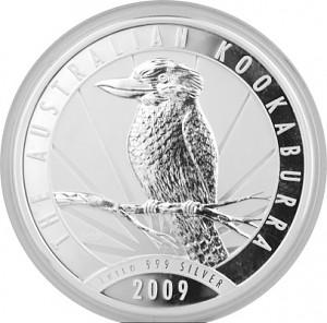 Kookaburra 1kg Silber - 2009
