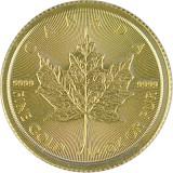 Maple Leaf 1/4oz Gold - 2019
