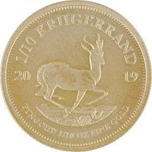 Krügerrand 1/10oz Gold - 2019