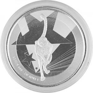 Afrika Kamerun Gepard 1oz Silber - 2019