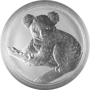 Koala 1kg d'argent fin - 2009