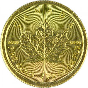 Maple Leaf 1/10oz Gold - 2019