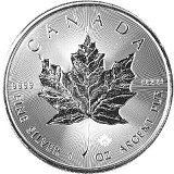 Maple Leaf 1oz Silber - 2019 Incuse