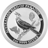 Birds of Paradise - Manucodia Paradiesvogel 1oz Silber - 2019