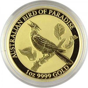 Birds of Paradise - Manucodia Paradiesvogel 1oz Gold - 2019