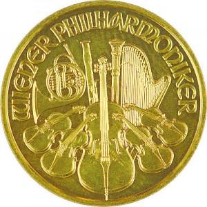 Wiener Philharmoniker 1/10oz Gold - 2019