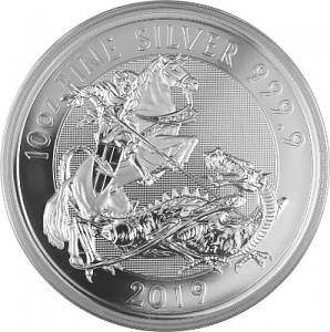 Great Britain Valiant 10oz Silber - 2019
