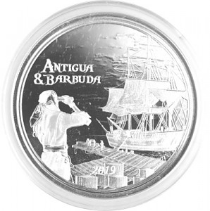 Antigua & Barbuda Rum Runner 1oz Silber - 2019