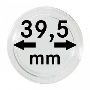 Münzkapseln 39,5mm, 1 Stück