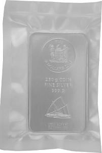 Silberbarren Münzbarren Heraeus Fiji 250 Gramm Silber - 2015