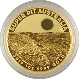 Australien Super Pit 1oz Gold - 2019