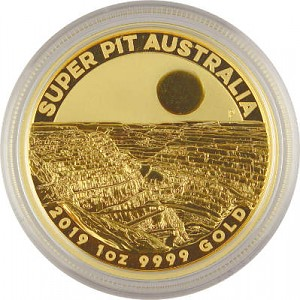 Australien Super Pit 1oz Gold - 2019