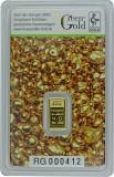 Goldbarren 1g - Auropelli Responsible-Gold
