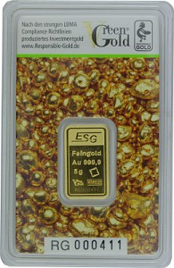 Goldbarren 5g - Auropelli Responsible-Gold